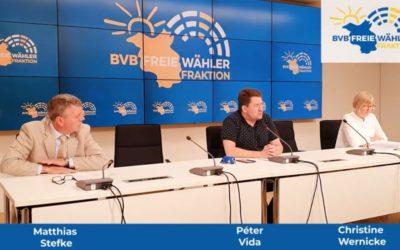 Pressekonferenz vom 26.05.2020:  Altanschließer – Jes Möller nicht ans BVerfG und Greifvogel-Horste werden für Windparks vernichtet