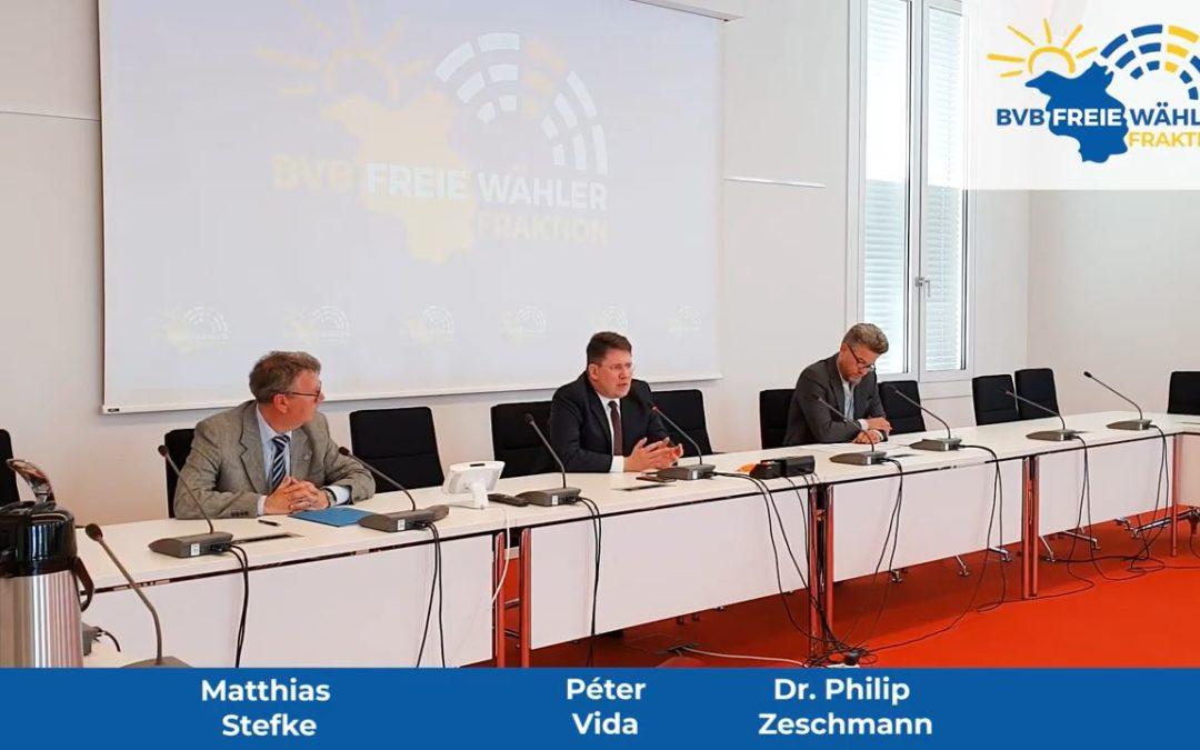 Pressekonferenz vom 5.5.2020 – Corona-Soforthilfe, Lockerungen der Maßnahmen und BER-Flugrouten