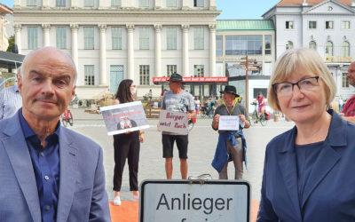 Petition gegen Erschließungsbeiträge eingereicht – 10.566 Unterschriften