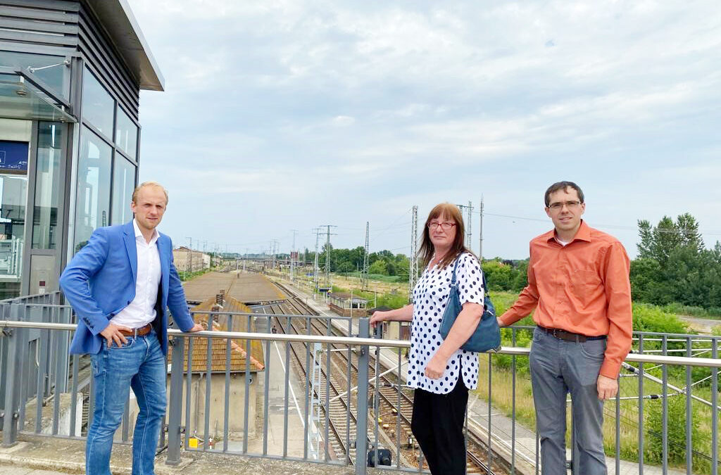 Fehlende Eisenbahn-Infrastruktur als Bremsklotz:Falkenberg/Elster wartet auf Strukturhilfe