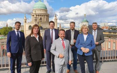 Landtagsfraktionen wollen eng kooperieren