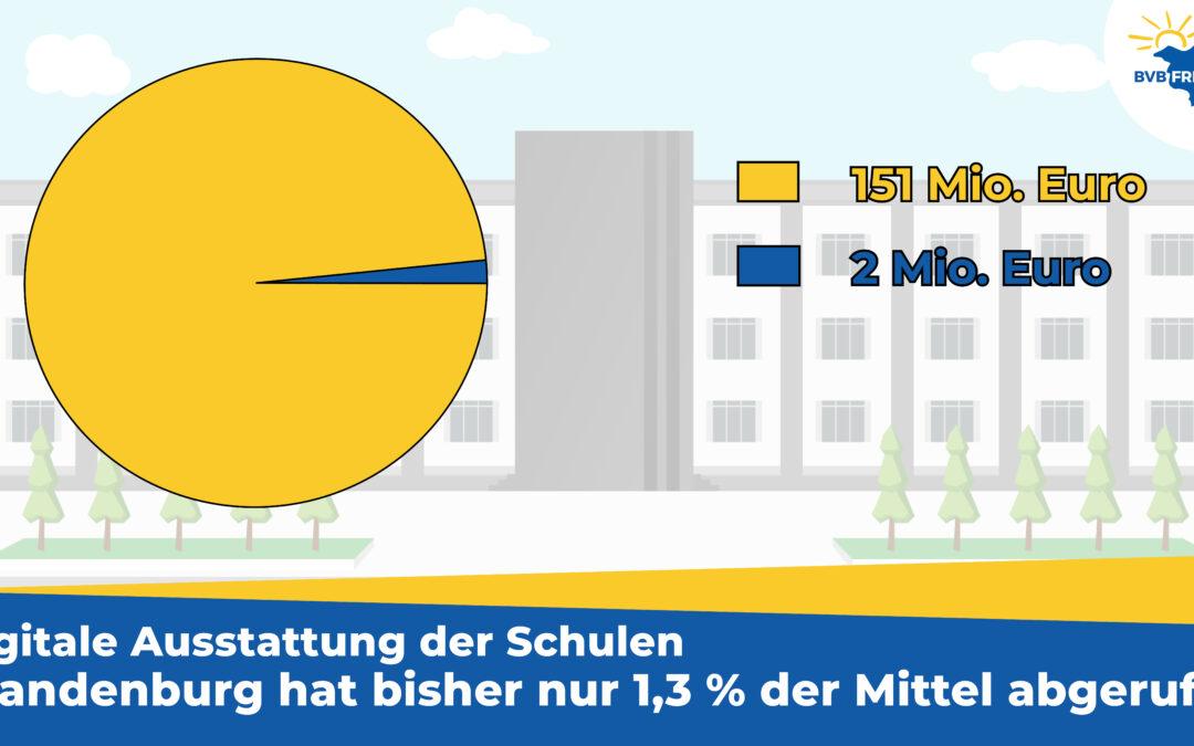 Brandenburg verschläft digitale Ausstattung der Schulen – Sinnbild des vorletzten Platzes im Bildungsvergleich